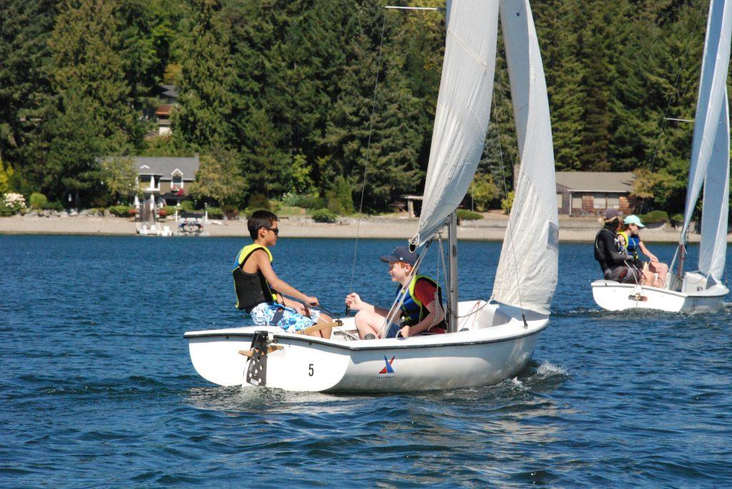 Teen double handed fj sailing